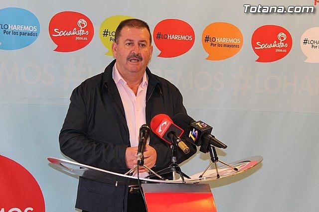 Rueda de prensa. PSOE Totana. PGOM, Foto 1