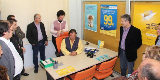 Puerto lumbreras inaugurada nueva oficina auxiliar de for Oficina correos murcia
