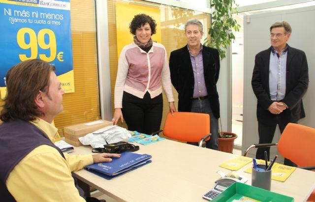 Puerto lumbreras inaugurada nueva oficina auxiliar de for Oficinas correos murcia
