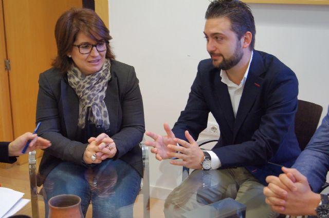 La alcaldesa se reúne con el nuevo presidente de Guadalentín Emprende, Foto 3