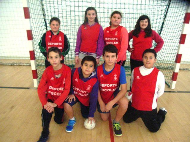 Comienza la Fase Local de Balonmano Alevín de Deporte Escolar, Foto 1
