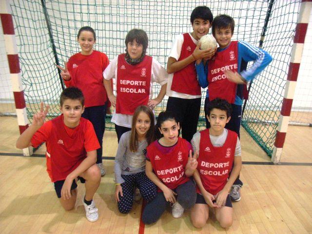 Comienza la Fase Local de Balonmano Alevín de Deporte Escolar, Foto 2