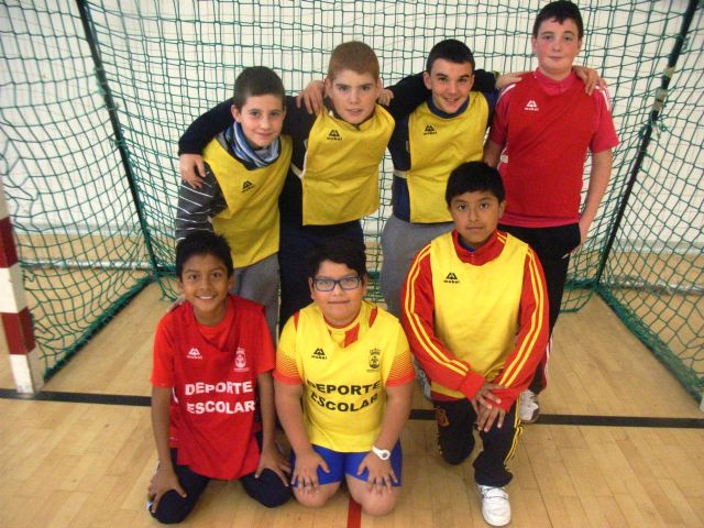 Comienza la Fase Local de Balonmano Alevín de Deporte Escolar, Foto 3