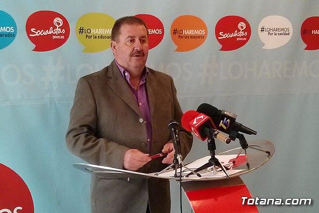 García Cánovas: En los últimos tres años de Gobierno de la Alcaldesa del PP la situación del empleo no ha mejorado en Totana, Foto 2