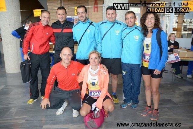 """Atletas del Club Atletismo Totana participaron en la XXVII Edición de la Media Maratón """"Ciudad de Lorca"""", Foto 1"""