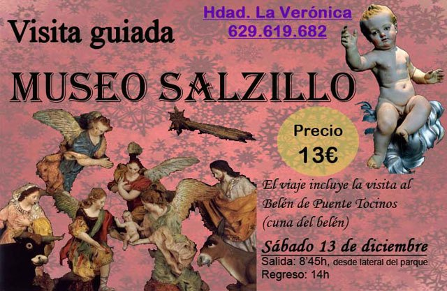 The Brotherhood of Veronica organized a visit to Salzillo Museum Murcia - 1