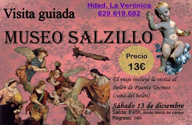 La Hermandad de La Verónica organiza una visita al Museo Salzillo de Murcia, Foto 1