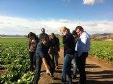 La Comunidad enseña la producción hortofrutícola de la Región a nueve grandes empresas de Kazajistán, Bielorusia y Ucrania