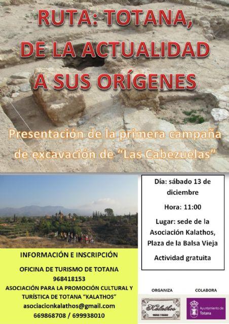 Descubre el origen de la ciudad de Totana de la mano de la Asociación Kalathos con la ruta Totana, de la actualidad a sus orígenes, Foto 1