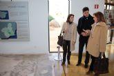 La directora general de Bienes Culturales visita el Museo Arqueol�gico Los Baños y el Castillo de Alhama de Murcia