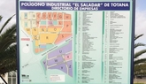 El Polígono Industrial El Saladar cuenta ya con un directorio que indica en qué lugar se encuentra cada empresa