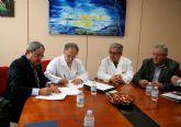 Grupo Fuertes firma un convenio de colaboraci�n con la Academia de Veterinaria de la Regi�n de Murcia