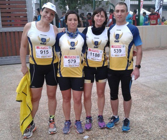Athletes Totana Athletics Club participated in the X Media marathon Torre Pacheco - 1