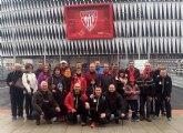 La Peña Athletic de Totana organizó un viaje a Bilbao para presenciar el encuentro entre el Athletic Club y el Córdoba