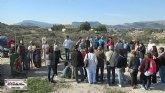 Cerca de 40 personas descubren el origen de la Ciudad de Totana con la Asociación Kalathos
