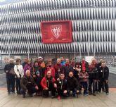 La Peña Athletic de Totana organiz� un viaje a Bilbao para presenciar el encuentro entre el Athletic Club y el C�rdoba - 1