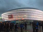 La Peña Athletic de Totana organiz� un viaje a Bilbao para presenciar el encuentro entre el Athletic Club y el C�rdoba - 2