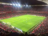 La Peña Athletic de Totana organiz� un viaje a Bilbao para presenciar el encuentro entre el Athletic Club y el C�rdoba - 3