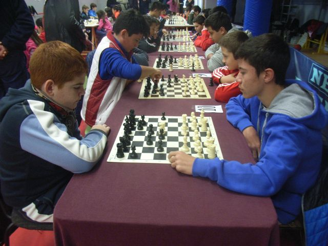 Sixty students participated in Phase Local Chess School Sports, reaching a record in the history of this school competition - 8