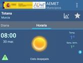 La Región de Murcia estará en alerta por frío hoy martes