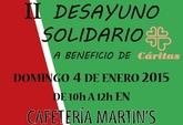 II desayuno solidario a beneficio de Cáritas