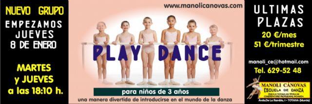 La Escuela de Danza Manoli Cánovas empieza el año lanzando nuevos cursos, Foto 1