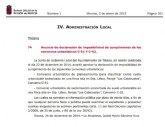 El BORM publica el anuncio de declaración de imposibilidad de cumplimiento de los convenios urbanísticos C-51 Y C-52