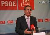 PSOE: El PP en la Región ha traspasado todas las líneas rojas de la corrupción al mantener a Cámara y al resto de imputados en sus cargos
