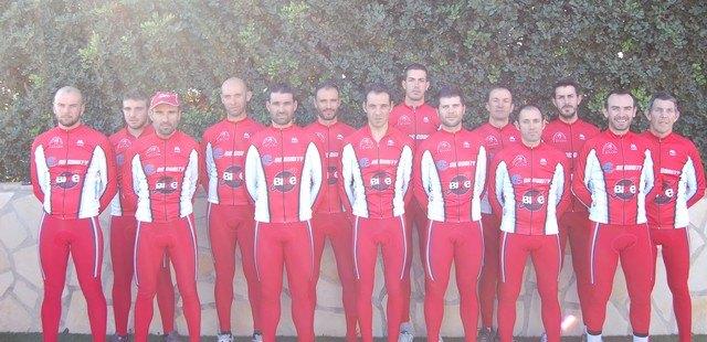 Se presenta el equipo ciclista del Club Ciclista Santa Eulalia, Foto 1