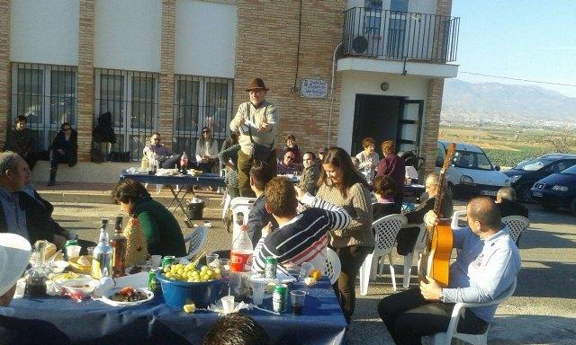 Canto de Ánimas del Día de Reyes en la pedanía de El Raiguero Alto, Foto 1