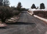 Finalizan las obras del camino rural Los Cordones