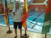 José Miguel Cano participó en el Primer Campeonato Regional Master de Natación de larga distancia