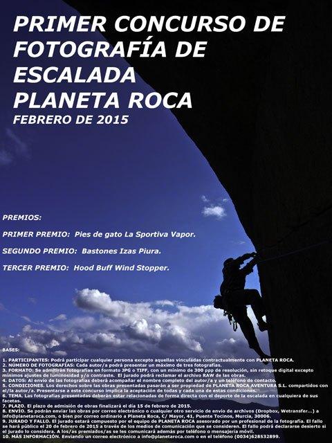Primer concurso de fotograf a de escalada for Servicio tecnico roca murcia