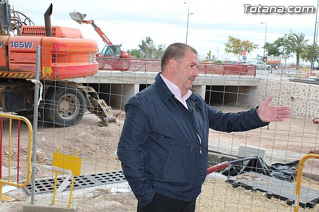 """PSOE: """"The Mayor in his four years in office is not able to finish the construction of the roundabout at the Kabuki"""" - 2"""