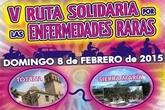 El 8 de febrero tendrá lugar la V ruta por las Enfermedades Raras entre Totana y Sierra de María