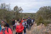 La Concejalía de Deportes celebró el pasado domingo una ruta de senderismo por Moratalla