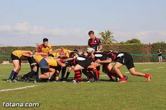 Tomorrow, Saturday January 24 in Totana played three friendly rugby - 1