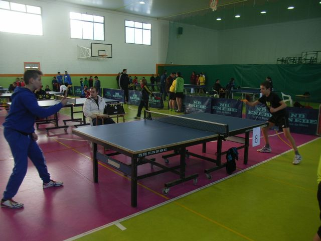 The IES Juan de la Cierva regional champion male child is proclaimed in the regional final table tennis School Sports, - 6