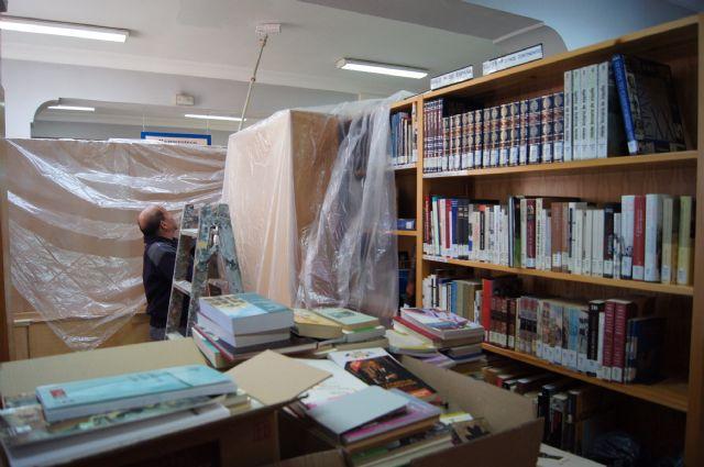 Comienzan los trabajos de adecuación y modernización de de la biblioteca municipal en el centro sociocultural