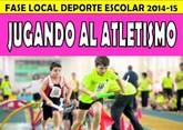 La fase local de Jugando al Atletismo de Deporte Escolar tendrá lugar mañana sábado 31 de enero