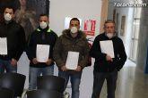 La Policía Local de Totana visita el pleno con mascarillas-mordaza - 10