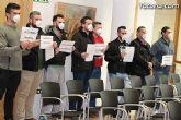 La Policía Local de Totana visita el pleno con mascarillas-mordaza - 3