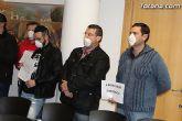 La Policía Local de Totana visita el pleno con mascarillas-mordaza - 13