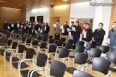 La Policía Local de Totana visita el pleno con mascarillas-mordaza - 14