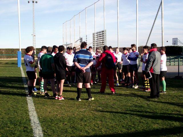 10 jugadores del CR Totana son convocados por las selecciones murcianas de rugby sub-18, y sub-16 para el Campeonato Nacional en Zaragoza, Foto 2