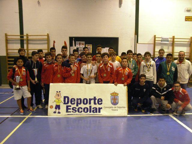 Finaliza la fase local de Fútbol Sala Infantil, Cadete y Juvenil masculino de Deporte Escolar, Foto 1