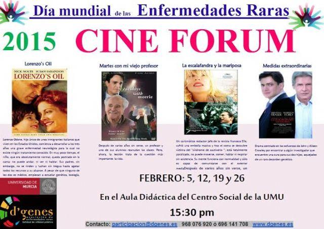 D´Genes organiza un ciclo de cine fórum los jueves del mes de febrero, Foto 1