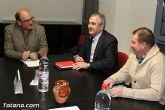 Rafael Gónzalez Tovar Candidato a la Presidencia de la Comunidad Autónoma y Andrés García candidato a la Alcaldía de Totana se reúnen con empresarios y vecinos - 2