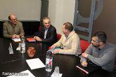 Rafael Gónzalez Tovar Candidato a la Presidencia de la Comunidad Autónoma y Andrés García candidato a la Alcaldía de Totana se reúnen con empresarios y vecinos - 3