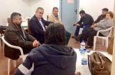 Rafael Gónzalez Tovar Candidato a la Presidencia de la Comunidad Autónoma y Andrés García candidato a la Alcaldía de Totana se reúnen con empresarios y vecinos - 9